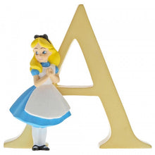 A - Alice in Wonderland Alphabet Letter