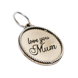 Love You Mum Charm