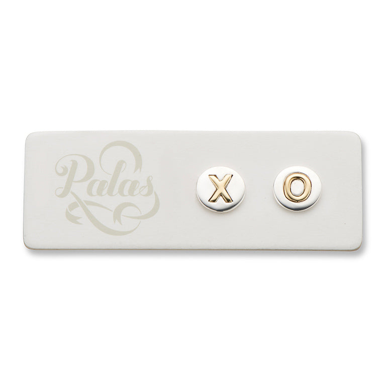XO Kiss & Hug Stud Earrings