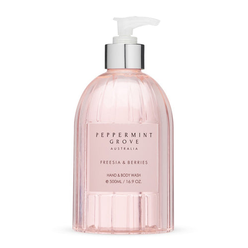 Hand & Body Wash 500ml - Freesia & Berries