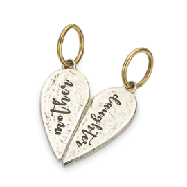 Mother Daughter Split Charm
