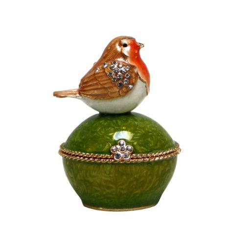 Trinket Box - Orange Bird