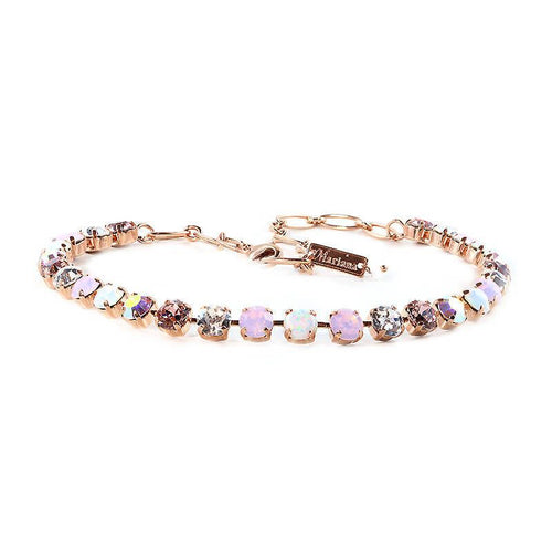 Mariana Pink and Clear Stone Necklace