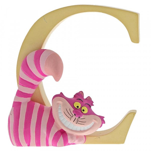 C - Cheshire Cat Alphabet Figurine