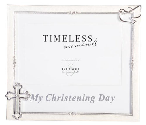 MY CHRISTENING DAY FRAME  6X4