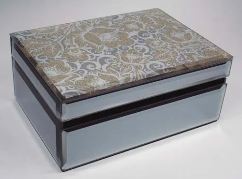 Golden Glitzi Jewellery Box