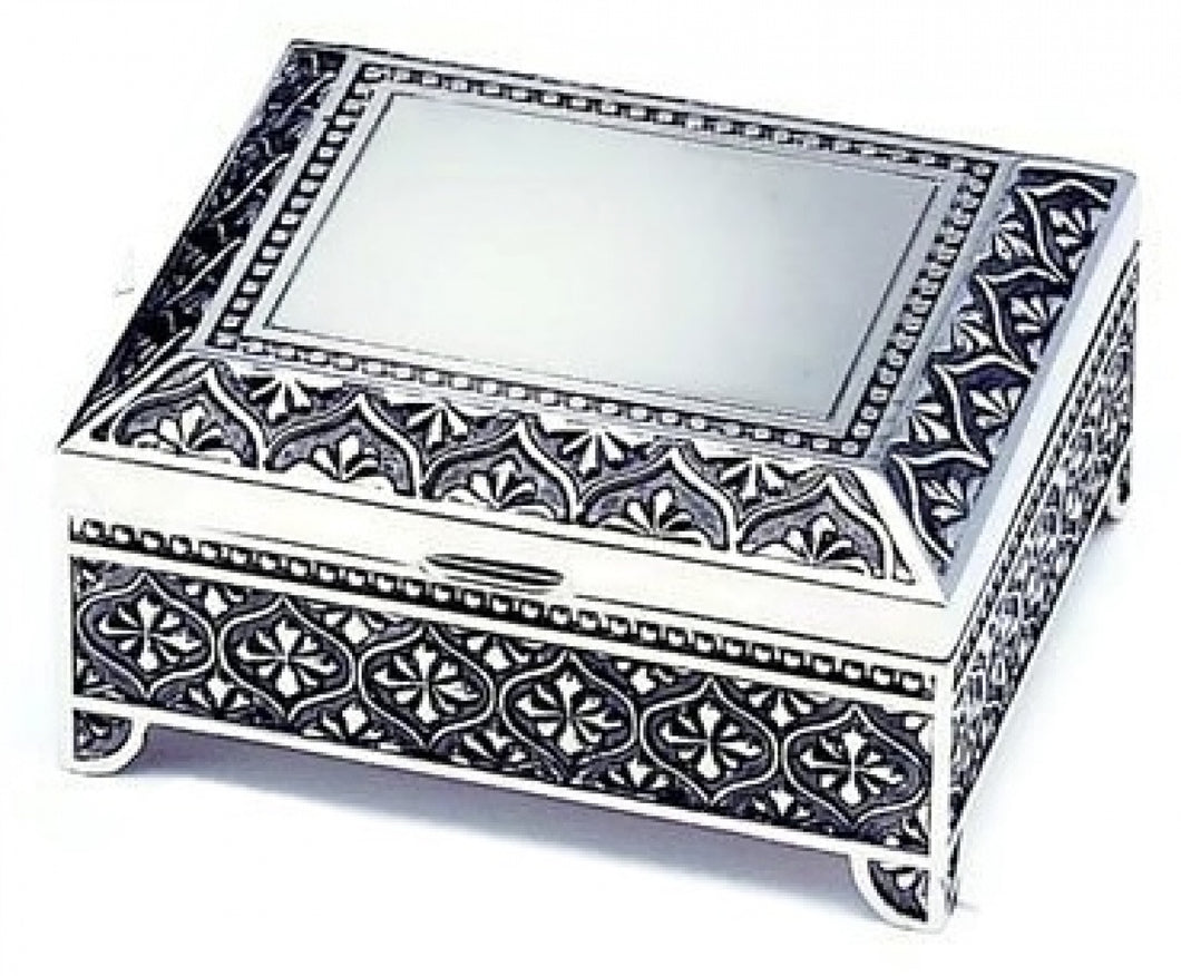 Silverplate Square Box - Medium