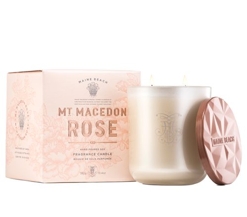 Mt. Macedon Rose - Soy Candle 380g