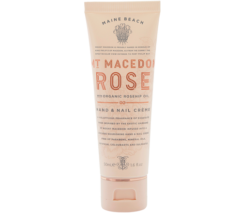Mt Macedon Rose - Hand & Nail Cream 50mL