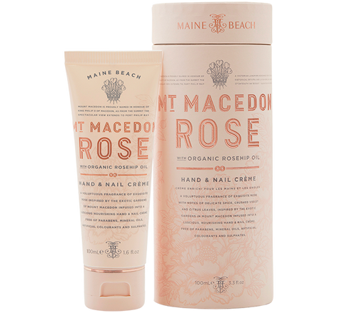 Mt Macedon Rose Hand & Nail Cream - 100ml