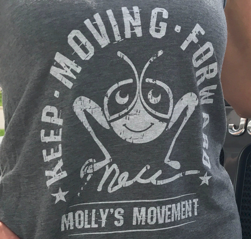 Women's Vintage Tank Top - Keep Moving Forward