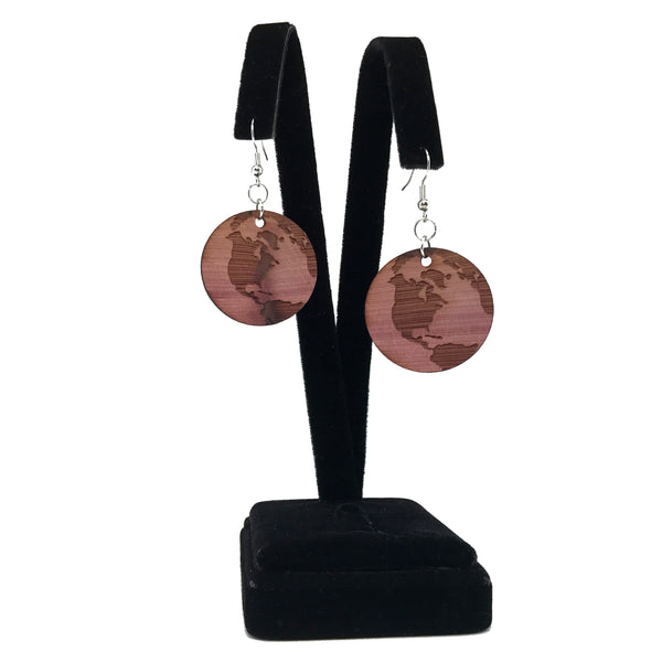 Globe Earrings (Big)