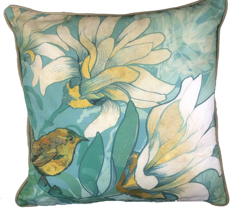Wren Cushion design by Shelly Perkins