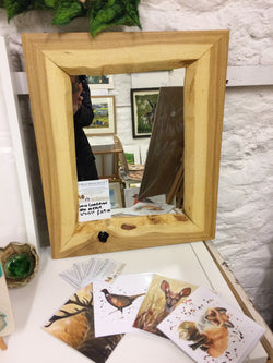 Oak Mirror from Wild Wood