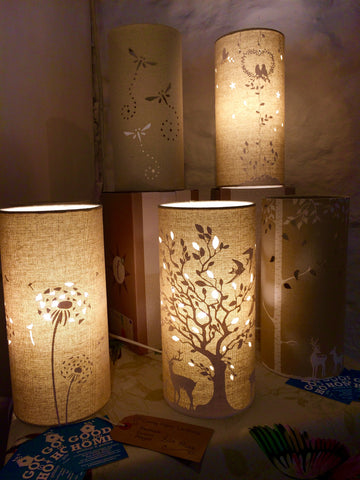Linen Table Lamps