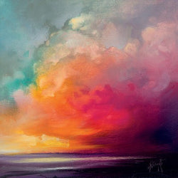 'Red Sky' Canvas by Scott Naismith