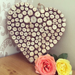 Beautiful Wooden crafted Heart