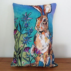 Summer Hare Cushion