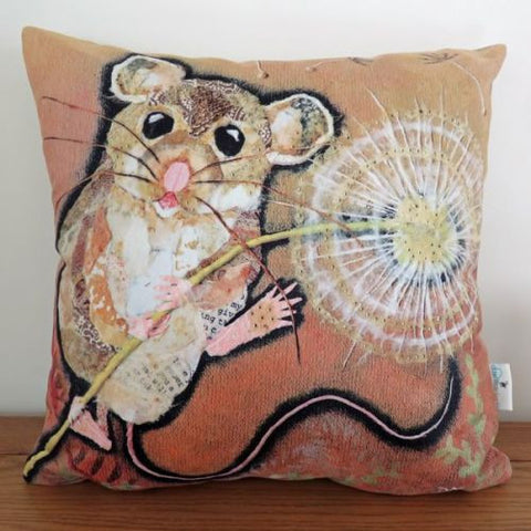 'Make a Wish' Dandelion Mouse Cushion