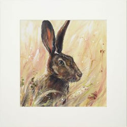 'Hilda Hare' Canvas by Bree Merryn
