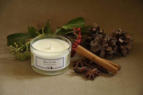 Winter Spice Scented Candle by Barncraft