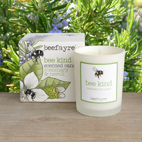 Beefayre small Scented Candle - Rosemary & Neroli