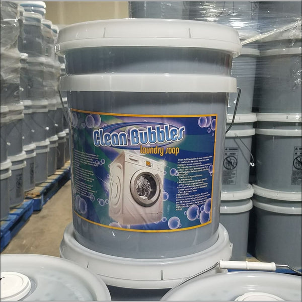 5 Gallon Blue Detergents Comparable To Tide - Regular - Laundry Soaps