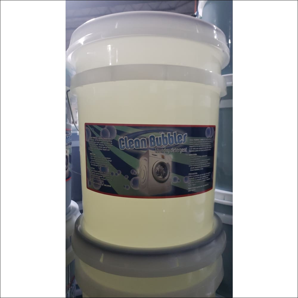 Free & Clear Detergent No Scent or Dye - 5 Gallon - Laundry Soaps