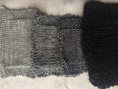 Gray/Black Swatches