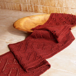 Dyed-to-order Cherry Festival Scarf Kit