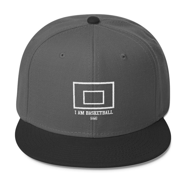 I AM BASKETBALL BACKBOARD SNAPBACK