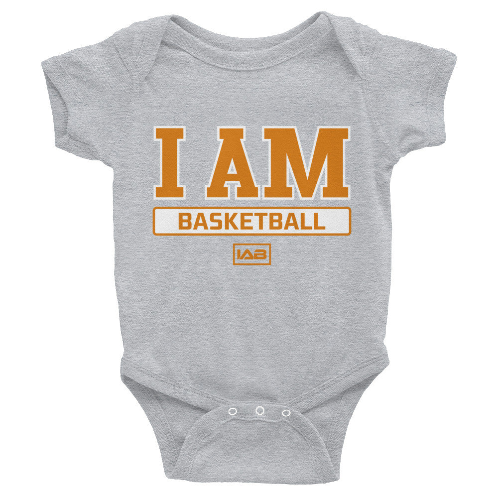 I AM BASKETBALL BABY I AM BODYSUIT