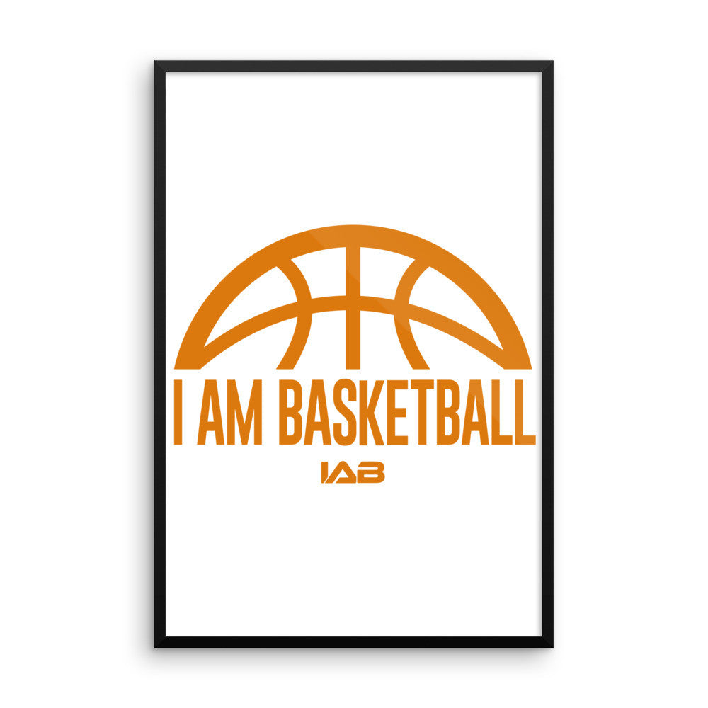 I AM BASKETBALL CLASSIC WALL ART