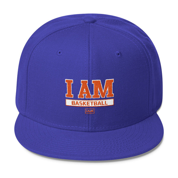 I AM BASKETBALL I AM SNAPBACK