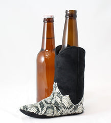 cowboy boot beer koozie