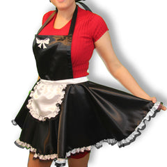 Silk French Maid Apron