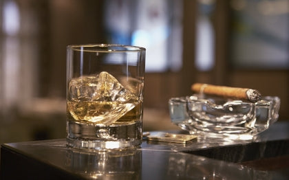 Whiskey and Cigar Pairing