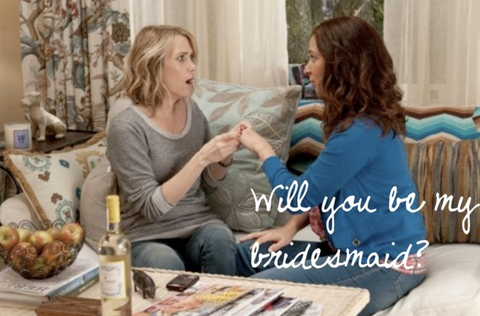 Will you be my bridesmaid? Bridesmaid Movie