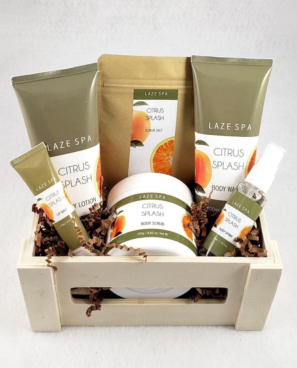 Fresh Citrus Splash Spa Gift Basket