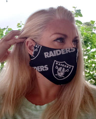 Raiders Reusable Face Mask