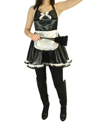 Maid outfit with feather duster
