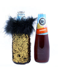 Wine Cooler Sequin Koozie. Tipsy Totes coolies hold beer, water, wine coolers and more!