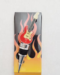Guitar Wine Stopper - Tipsy Totes | Wine Gifts | Beer Koozies | Wine Totes | Simply Fabulous