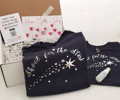 Mother's Day Activity Gift with Matching t-shirts Shoot for the Stars