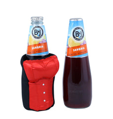Tipsy Totes' Versatile Corset Koozie Hold Beer, Water Bottles and Wine Coolers