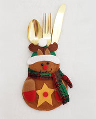 Reindeer Flatware Holder