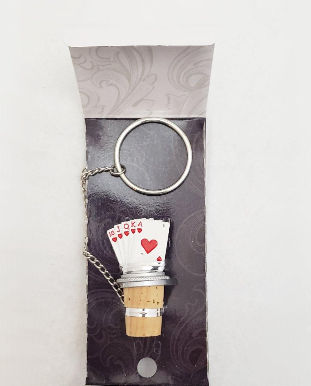 Royal Flush Wine Stopper - Best Gifts for Poker Players
