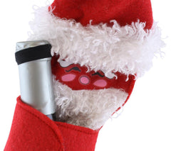 Santa Wine Bottle Holder for wine and champagne