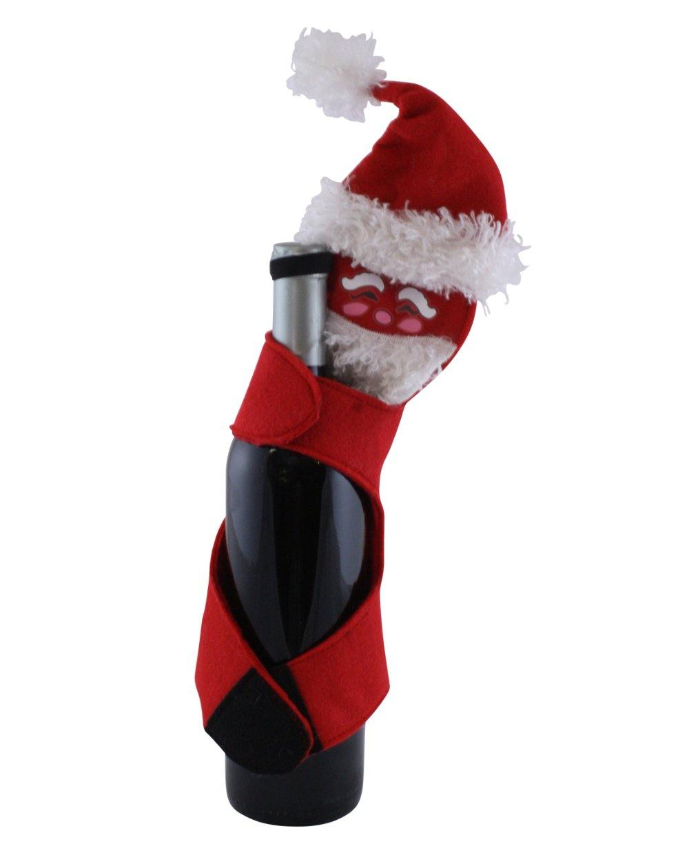 Santa Wine Bottle Hugger for wine and champagne