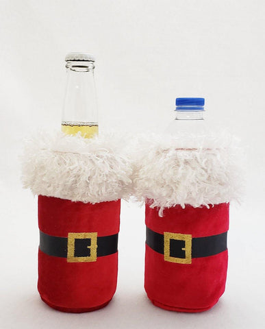Santa Koozies for Beer or Water